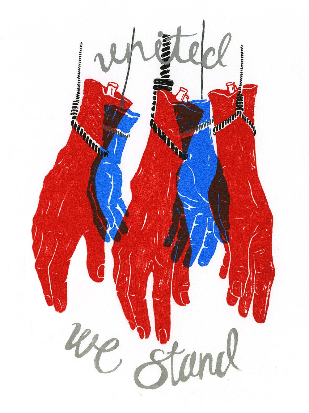 United We Stand (Original Screen Print)