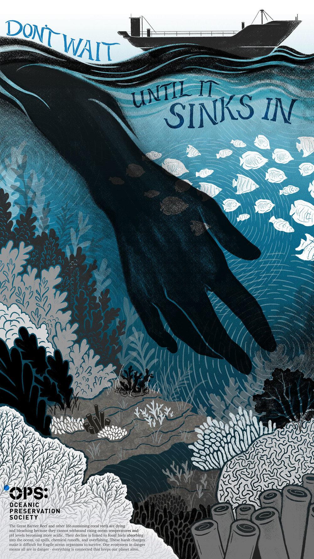 The Human Effect: Environmental Awareness Poster Series (3)