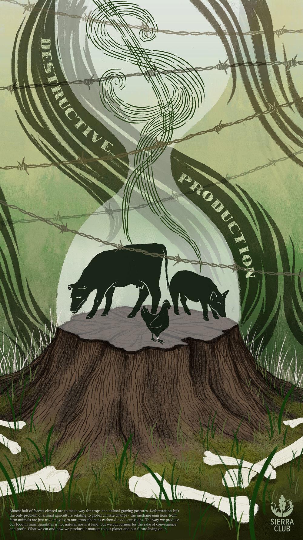 The Human Effect: Environmental Awareness Poster Series (1)
