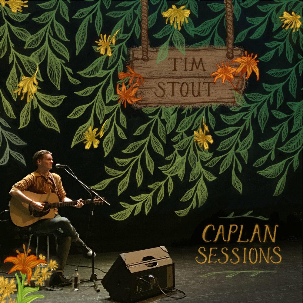 Album Cover for artist Tim Stout.
