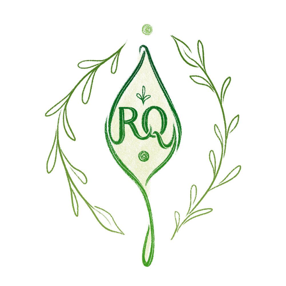 Logo design for Rachel Quinn Jewelry Arts