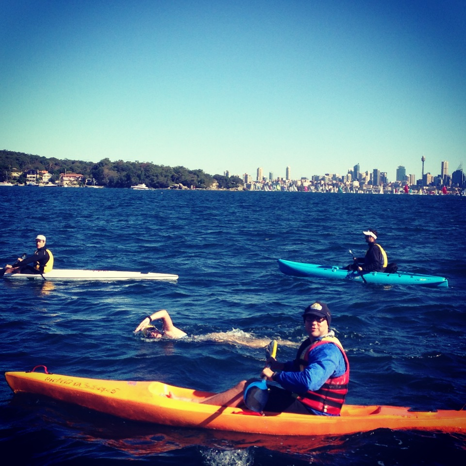Coming in to Watsons Bay, South Head Roughwater, 2013