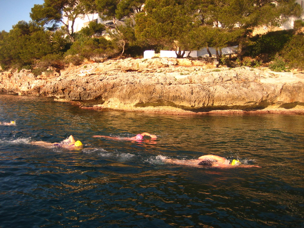 Swimtrek long-distance swim camp, Mallorca