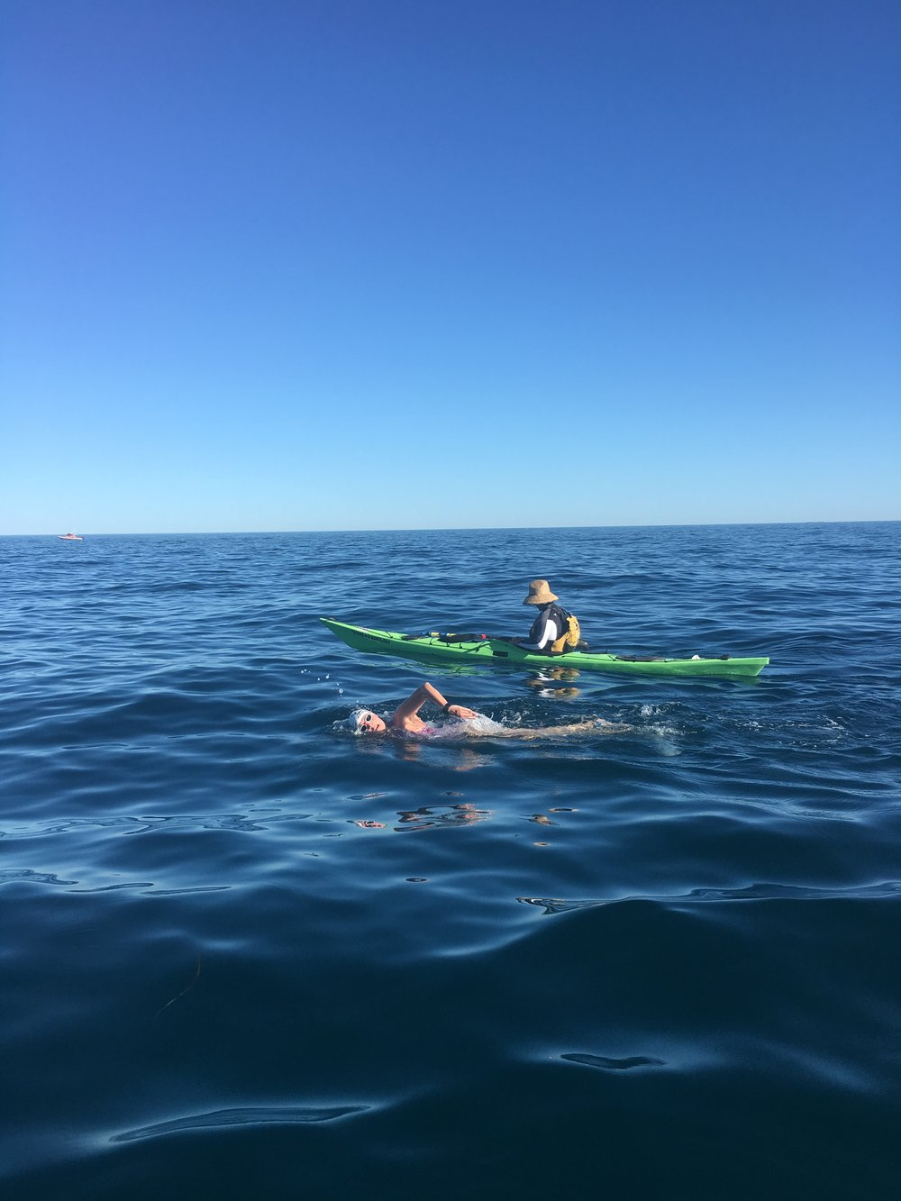 Rottnest Channel, 19.7km, 2016
