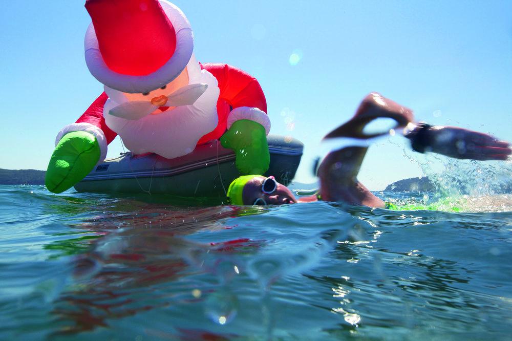 Deflated Santa, Vladswim 10km