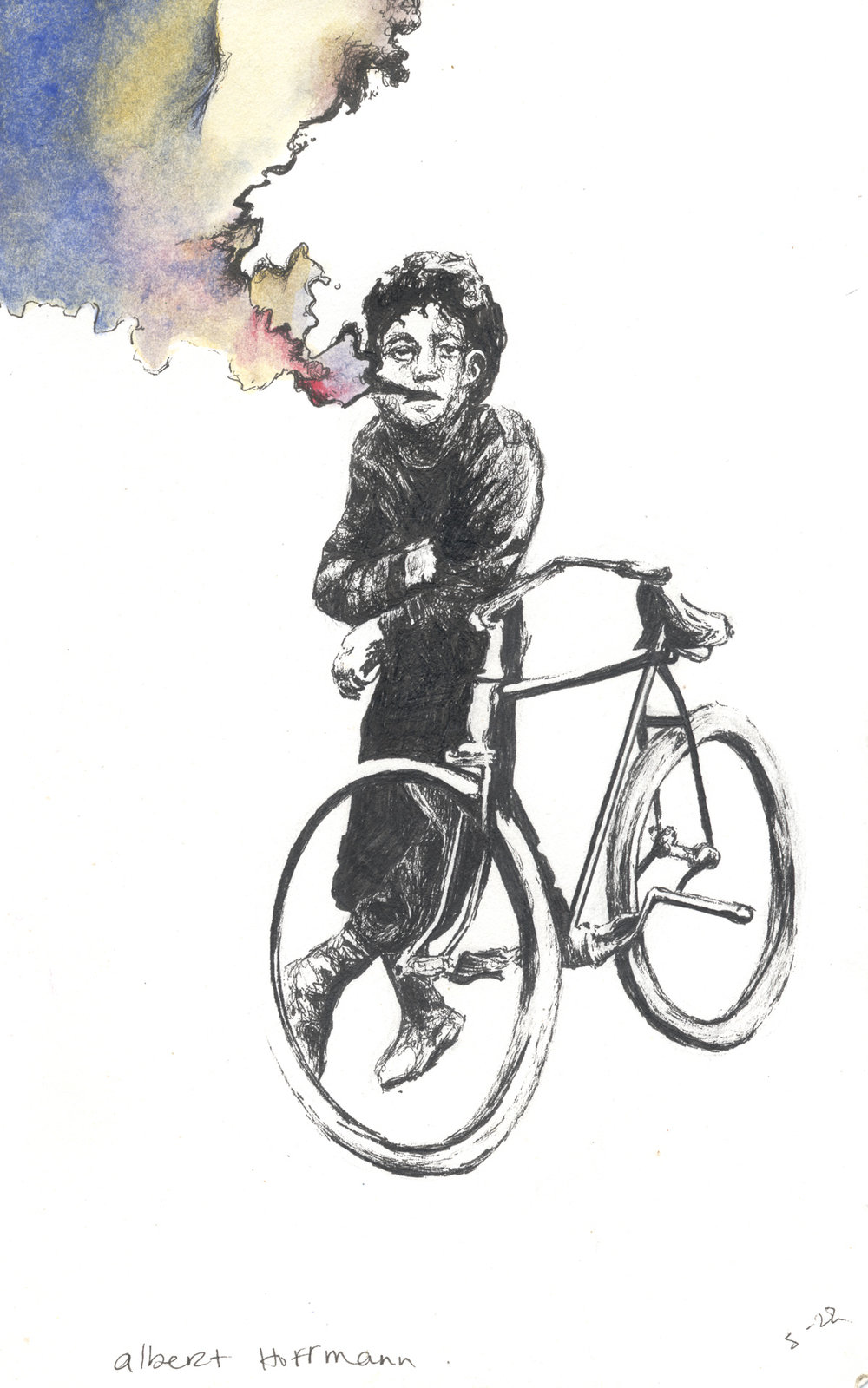 Albert Hofmann's Bicycle Day