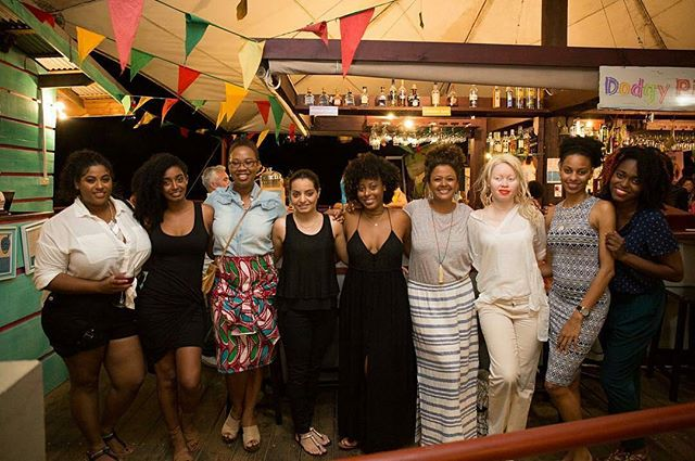 Find Your Tribe. Love them Hard. ❤  With some of the beautiful women/members of our #SpiceBloggers community at the @grenadachocolatefest. @thecurly_tales @thefablifestory @tailoredbyterrieann @amarnani.xo @grenadasouladventurer @thewordyphoenix @islepreneur @isleofbites  #mytribe #seasaltnstyle #grenadachocolatefest2017