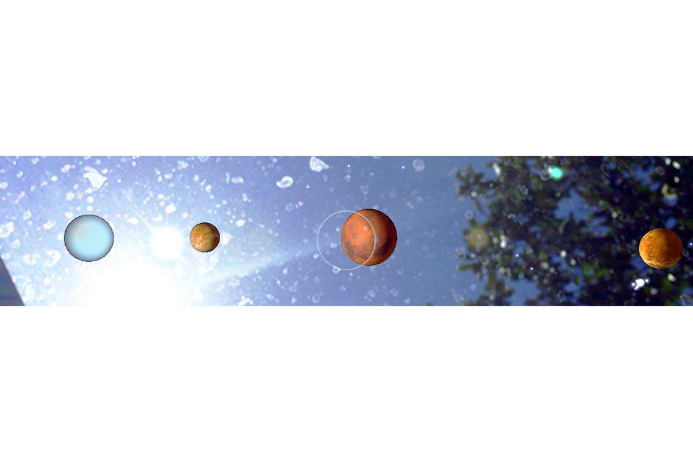 Dust (Bandini-Suite; Sun, Uranus, Mercury, Mars, Venus), 2015