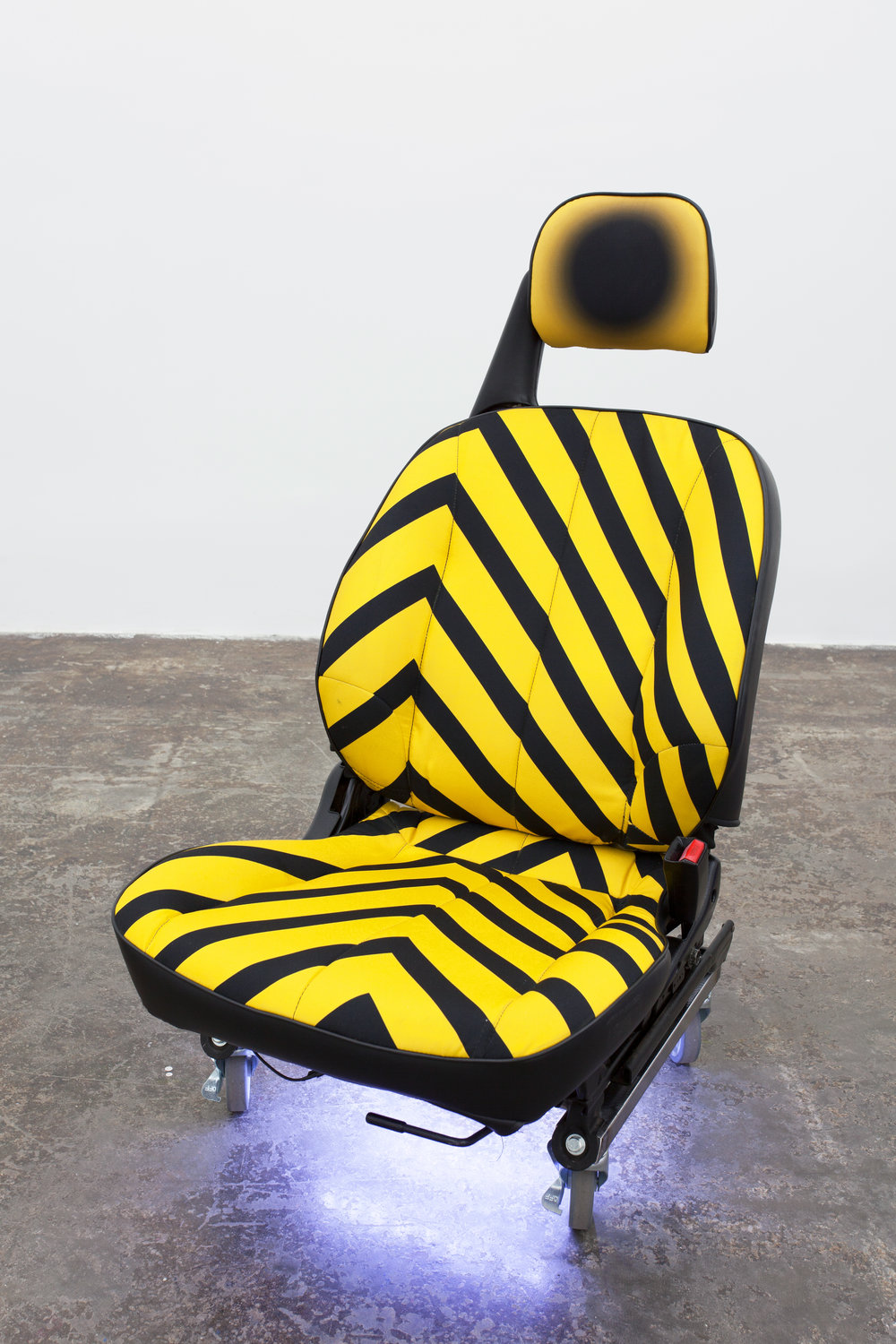 Einzelgänger II (Doppelgänger Yellow) (From the series 'Agents'), 2014