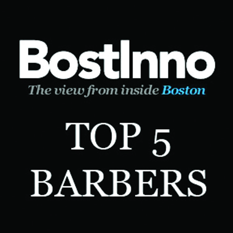 Named among the Best Barbers in Boston by Bostinno