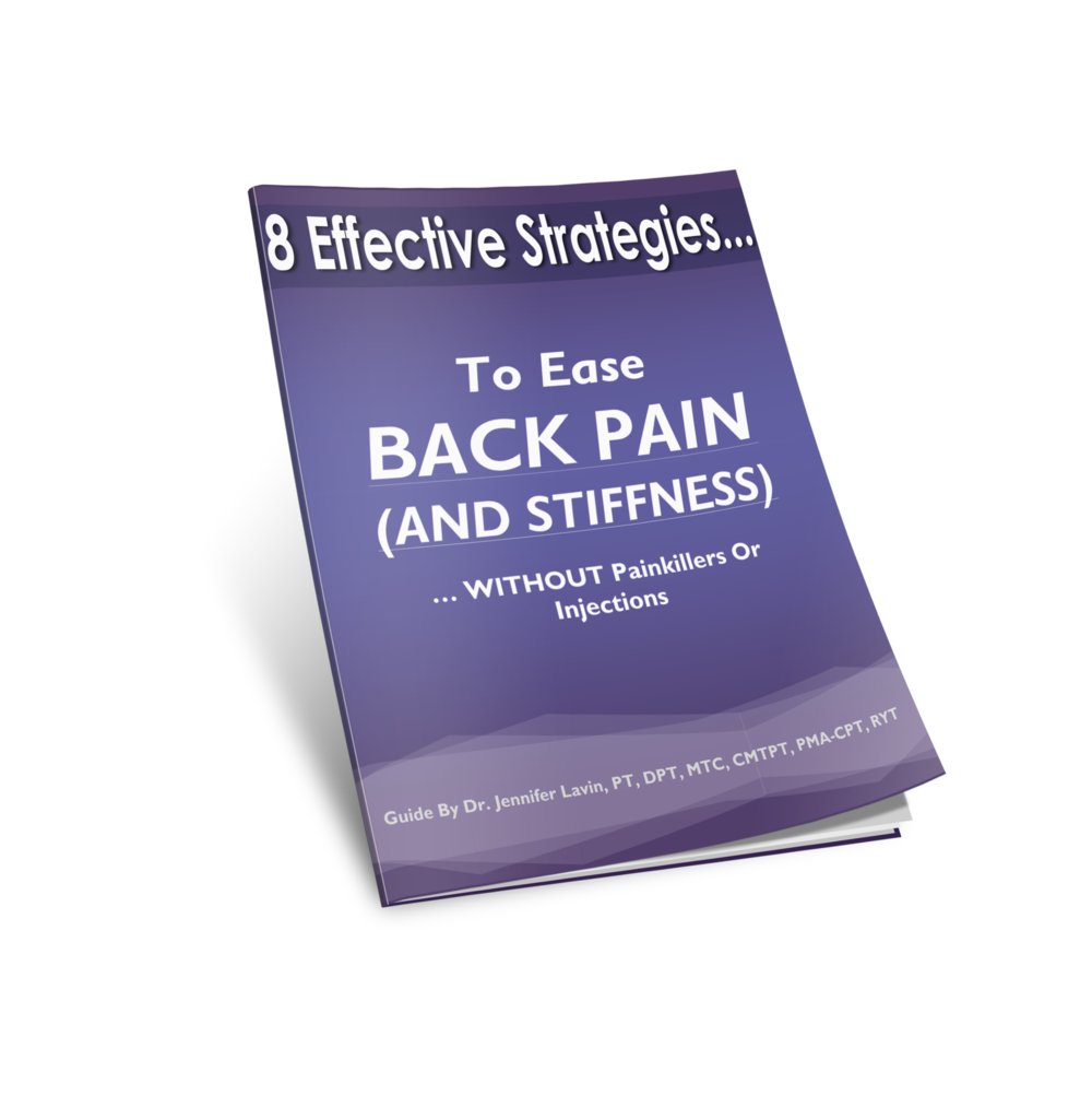 Eight Effective Strategies to Ease Back Pain