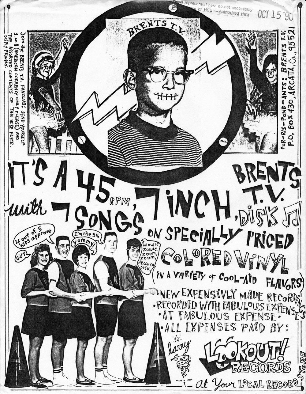"For the Lumberjack Days 7"" (Oct. 1990)"