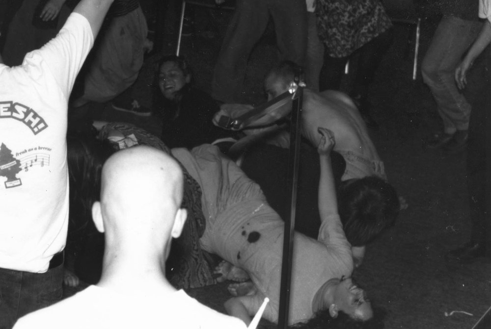 Alicia tripped!(detail of 2nd photo)