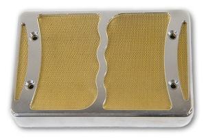 Ronin foilbucker - gold mesh