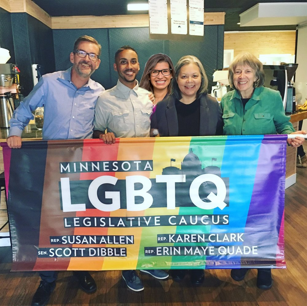 minnesota lgbtq caucus endorsement photo