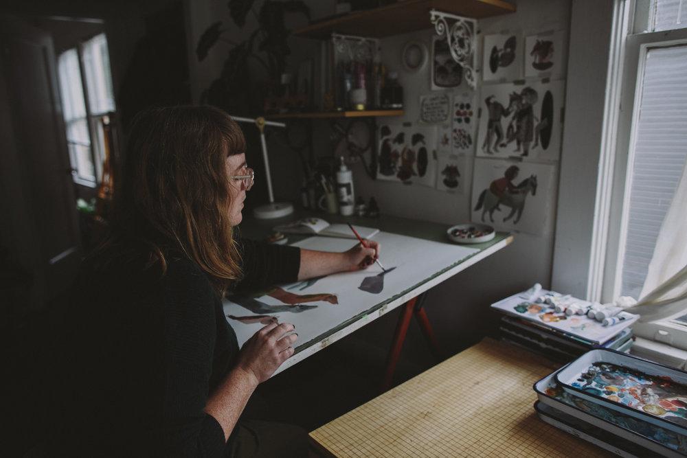 Lindsay Stripling, Artist // San Francisco