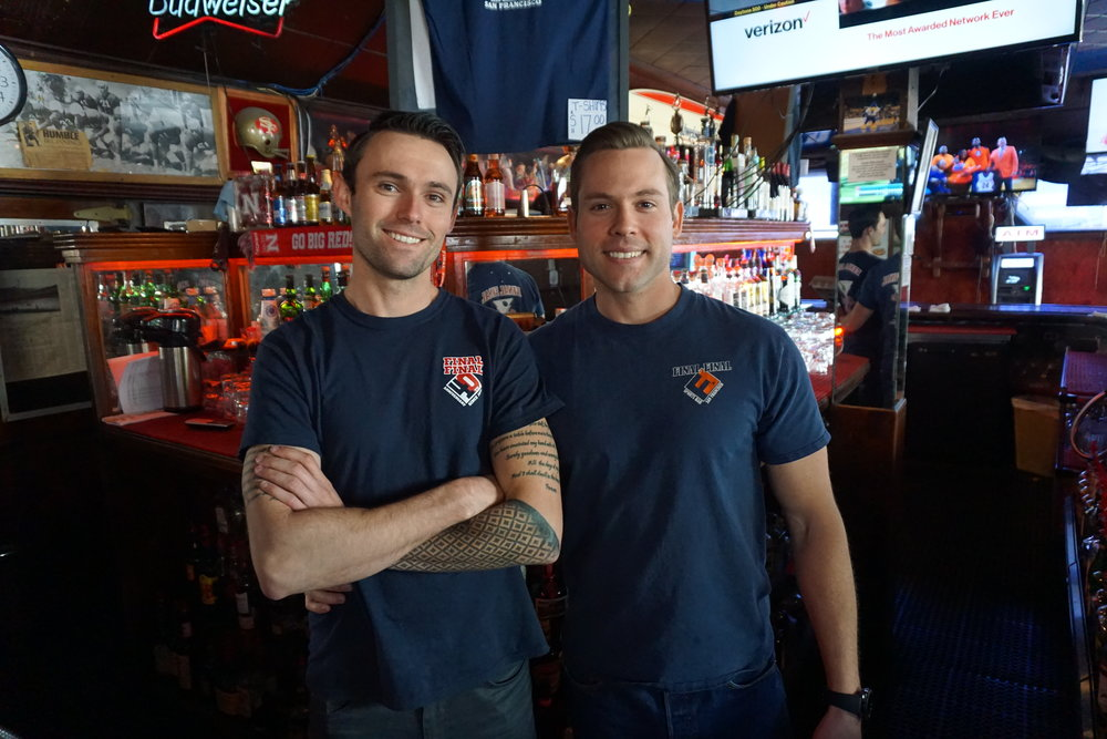 Elliott & Cory Prien - We take pride in following after our father. If you don't see our parents behind the bar, it will probably be us. We promise to make your next visit a very memorabilia one!