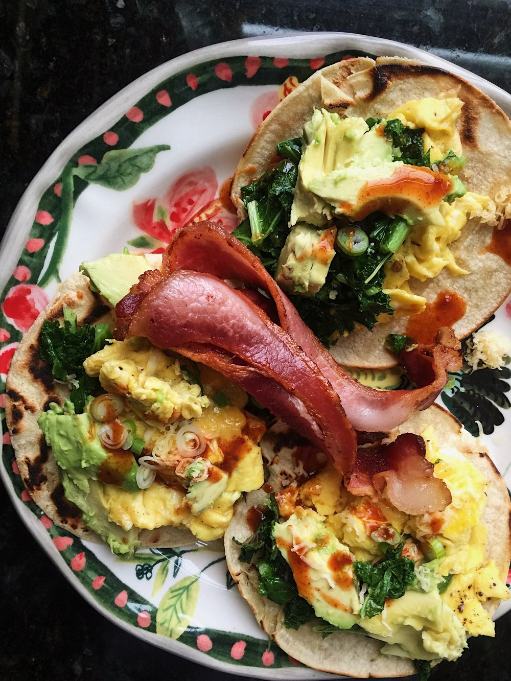 Bacon Breakfast Tacos