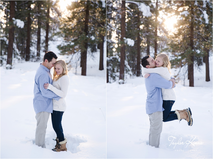 Big Bear Engagement Session 11