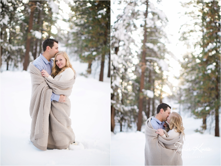 Big Bear Engagement Session 14