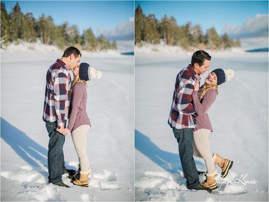 Big Bear Engagement Session 6