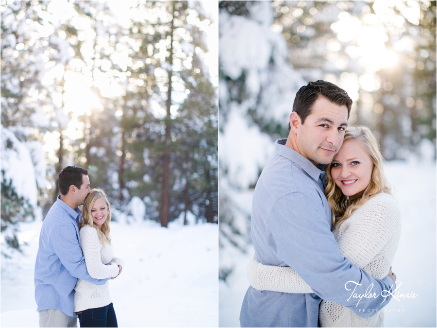 Big Bear Engagement Session 9