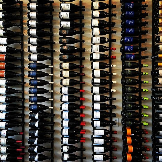 #wine wall at Pico in Los Alamos, CA with @chriswong31 @alexaavila @jeffdean778 @nate.wo