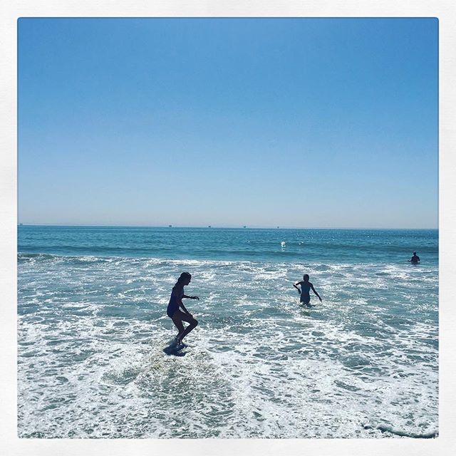 The water feels perfect today. #padarobeach @chriswong31 @nate.wo