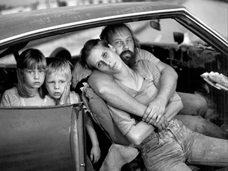 Mary Ellen Mark  The Damm Family in Their Car , Los Angeles, CA, 1987