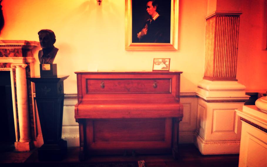 James Joyce's piano