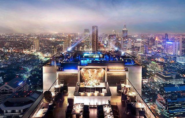 Bangkok, Thailand 🇹🇭 Vertigo & Moon Bar 🌙 🥂