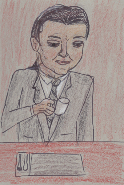 365 Sketch 2015: Day 55: Twin Peaks Day