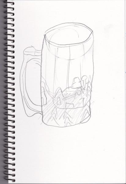 365 Sketch 2015: Day 73: Mug