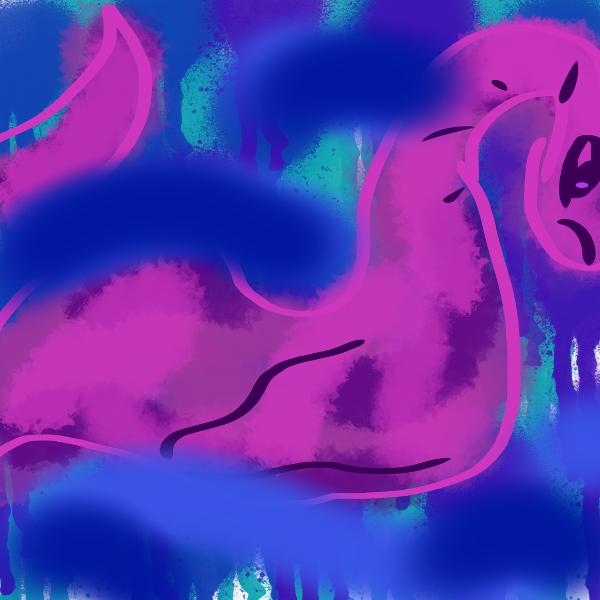 365 Sketch Nessie