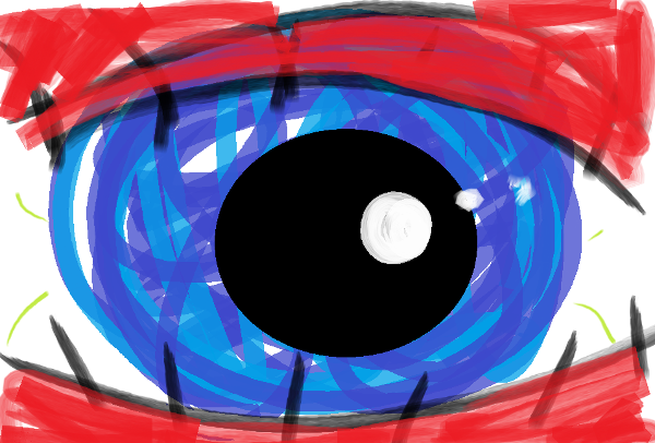 365 Sketch 2015: Day 80: New Comp Eye