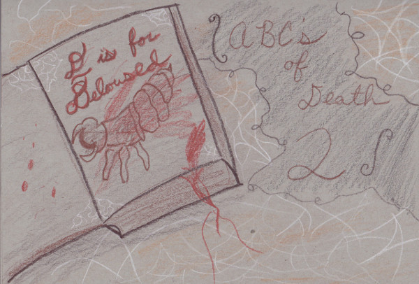 365 Sketch 2015: Day 96: ABCs of Death 2