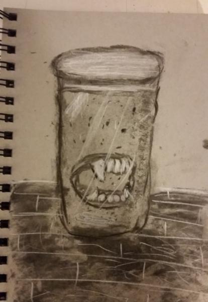 Drawlloween 2015: Day 4: Vampire