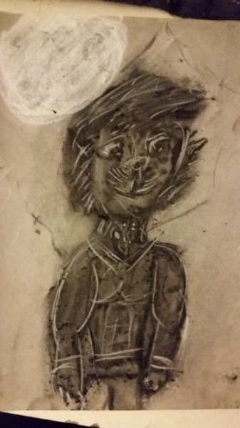 Drawlloween 2015: Day 5: Werewolf