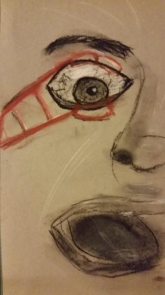 Drawlloween 2015: Day 9: Eyeball