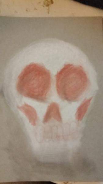 Drawlloween 2015: Day 20: Skull
