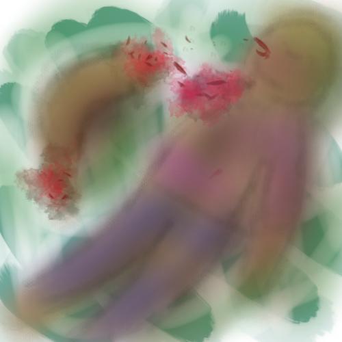 Drawlloween 2015: Day 23: Gore