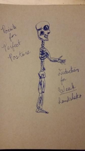 Drawlloween 2015: Day 24: Skeleton