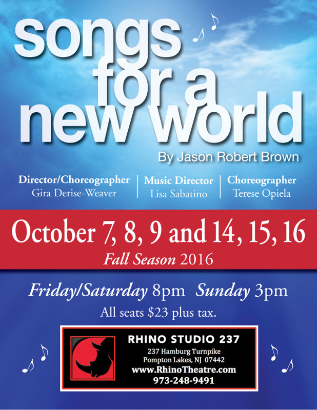 Songs for a New World Rhino Poster
