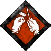 Icon for the Tinkerer perk with a hammer and screwdriver.
