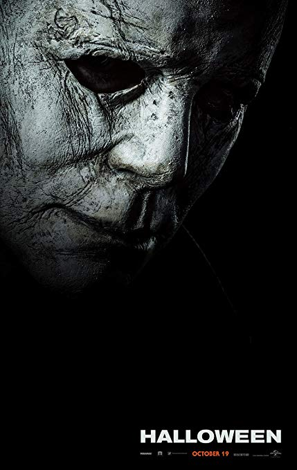 I think we can all agree that the  Halloween 2018 poster, featuring Michael staring into darkness, is stunning.