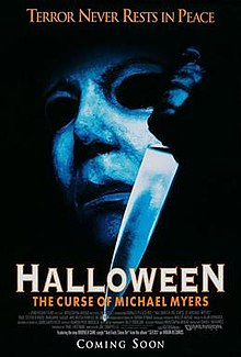 Resurrection is  rightly the butt of the joke in the  Halloween  series--a reality-TV concept with a cast including Busta Rhymes and Tyra Banks--but  The Curse of Michael Myers is hands down the strangest in the main series.