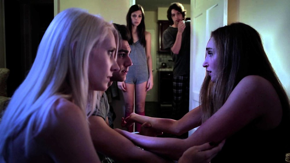The five new roommates react to more haunted house shenanigans.