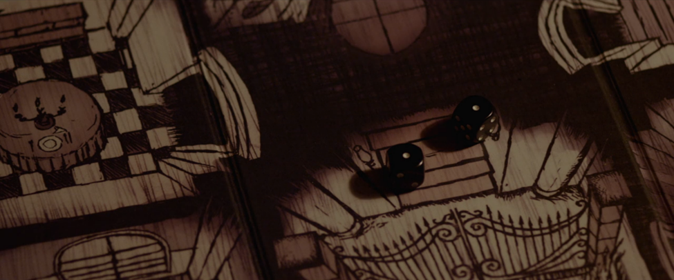 Beyond the Gates  is filled with beautiful imagery, all stemming from the creepy illustrated gameboard.