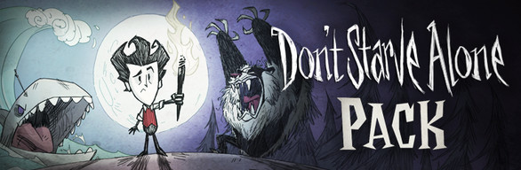 Catch up with  Don't Starve  by purchasing the  Don't Starve Alone  pack on Humble Bundle. It comes with the core game,  Reign of Giants,  and  Shipwrecked  for a discount.