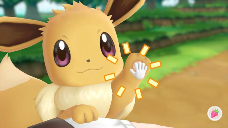 I audibly squeed when Eevee first popped up. I don't know what will happen when my main, my favorite, my lifelong Pokemon buddy Jigglypuff enters the battle.